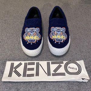 Men's Kenzo K-Skate Tiger Towel Slip-On Sneakers